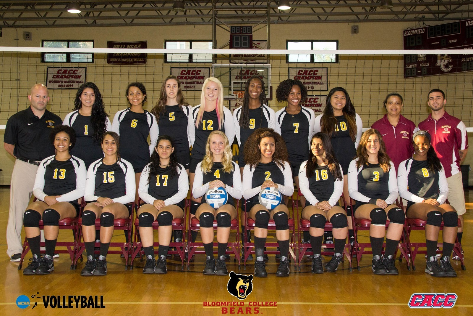 2014 Women S Volleyball Roster Bloomfield College Athletics