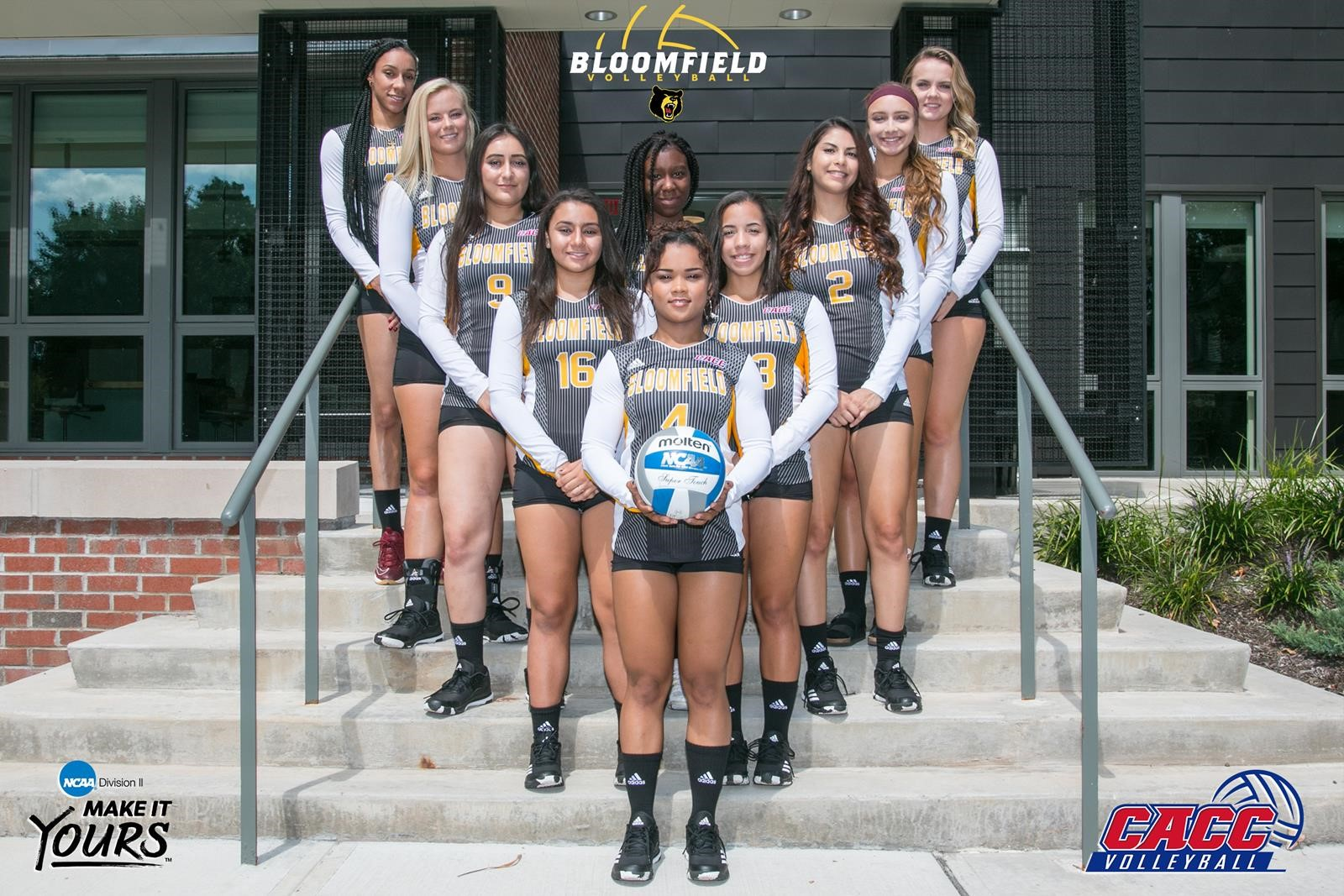 2017 Women S Volleyball Roster Bloomfield College Athletics