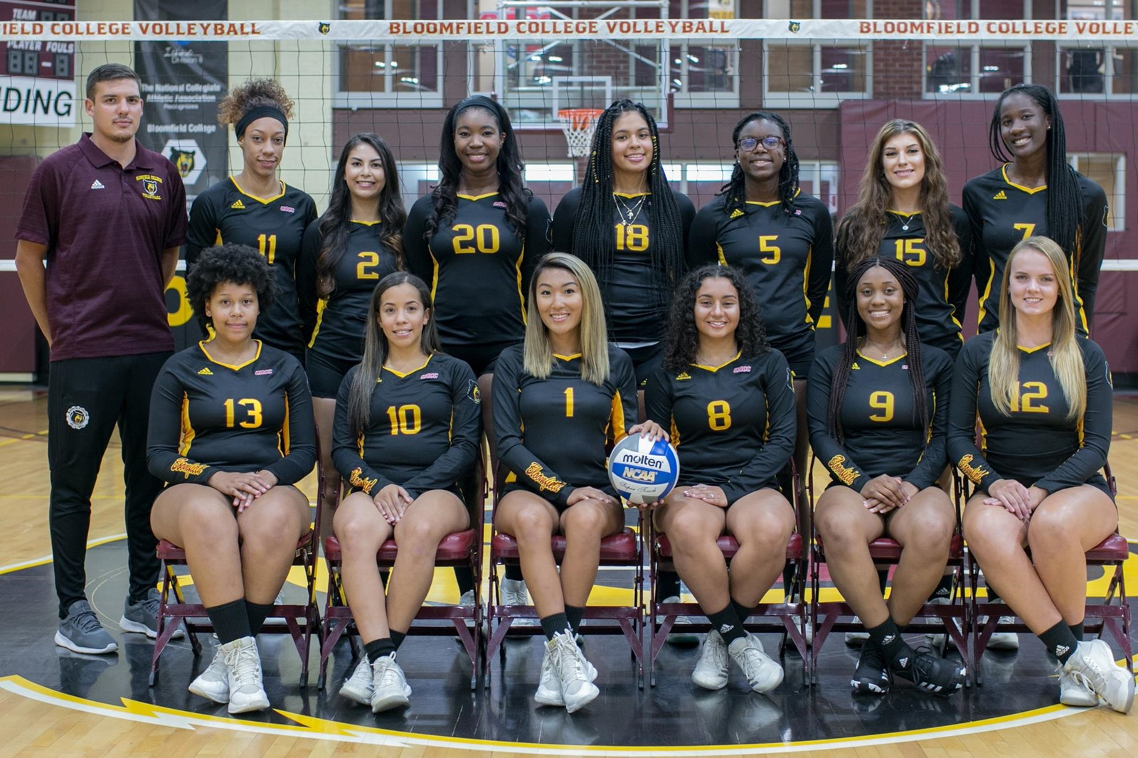 2019 Women S Volleyball Roster Bloomfield College Athletics